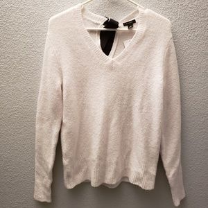 Halogen Back Bow Sweater